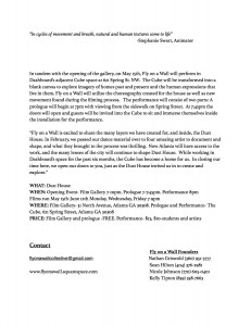 Fly on a Wall Dust House Press Release Page 2